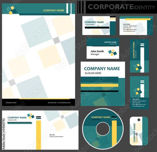 Photo  Identyfikacja wizualna firmy, zestaw