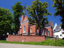 Church Of St. Adalbert In Wawolnica Near The Famous Chapel Of Th