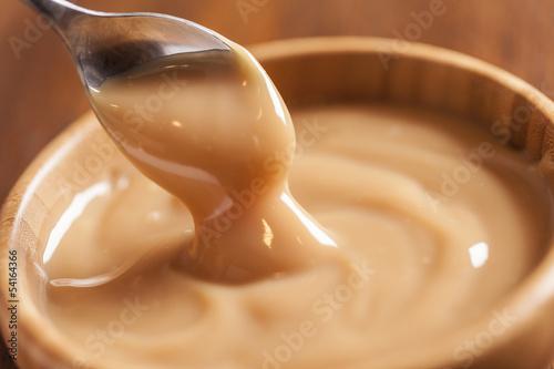 Staande foto Snoepjes Dulce de leche