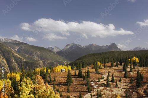 Fotografie, Obraz  Molass pass, Rio Grande National Forest, Colorado