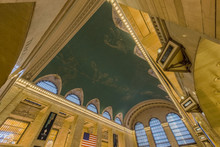 Interior Of Grand Central Station In New York City