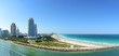 canvas print picture - South Miami Beach