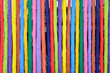 colorful wood fence background