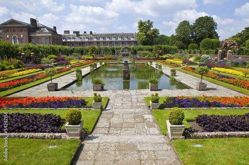 The Sunken Garden and Kensington Palace Poster