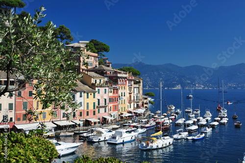 Fotografia  Portofino, famous small town near Genova, Italy