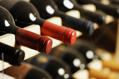 Papiers peints Vin Wine bottles