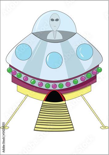 Photo  Alien UFO