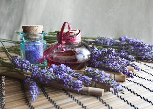 Fotobehang Lavendel Lavande, Cosmétique et Bien-êre