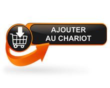 Ajouter Au Chariot Sur Bouton Web Design Orange