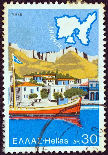 Fotografering  Lemnos island (Greece 1976)