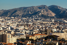 Aerial View Of Marseille City ...