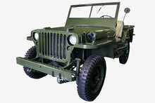 Old Green Jeep