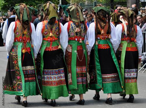 Fotografia  folklore sardo