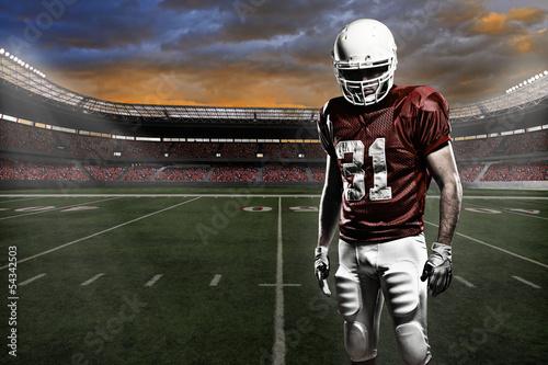 Football player Fototapet