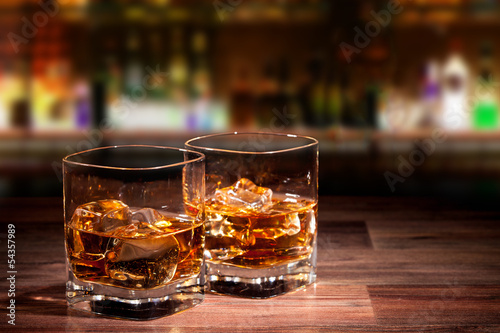 Photo Whiskey drinks