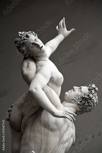 "Photo  ""The Rape of the Sabine Women"" by Giambologna, Florence"