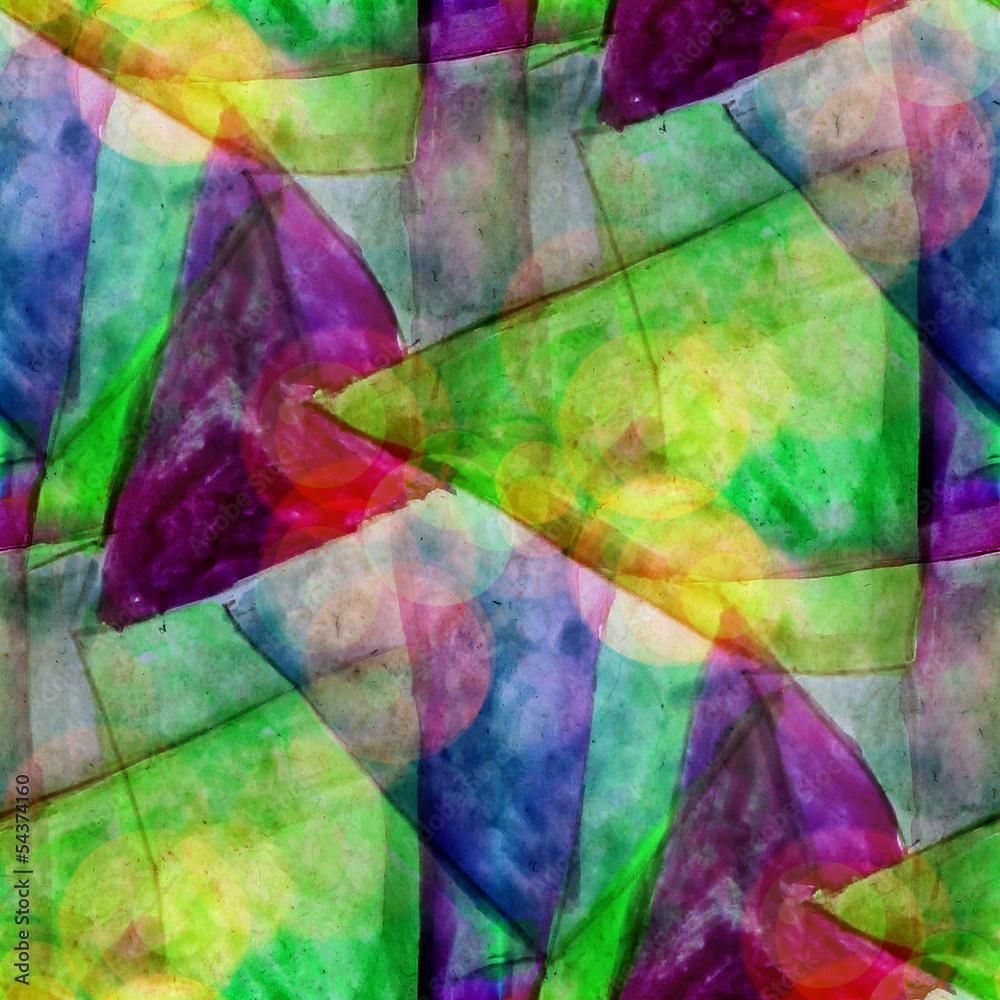 sunlight macro green, purple watercolor seamless texture paint s