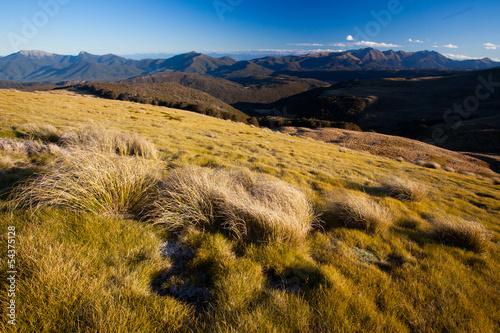 Photo  Peaceful mountain landscape