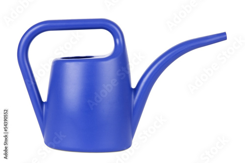 Obraz na płótnie Gardening tools: watering can isolated on white
