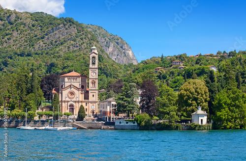 Fotobehang Landschap Lake Como