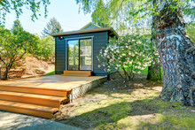 Small Garden Studio In A Separ...