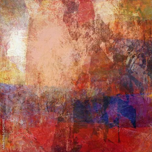 abstrakcyjna-brazowo-czerwona-tekstura-malowania-pedzlem