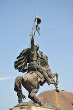 Statue Guillaume Le Conquêrant à Falaise