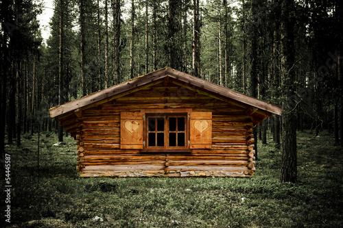 Fotografie, Obraz  Jagdhütte
