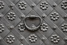 Gate With Door Knocker, Decora...