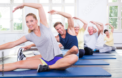 Foto-Schmutzfangmatte - gymnastik (von drubig-photo)