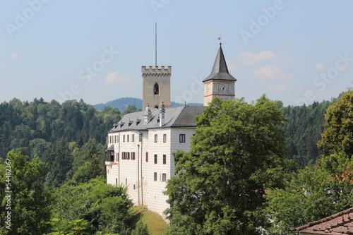 Rozmberk castle in the Czech Republic Poster