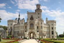 Hluboka Castle In The Czech Re...