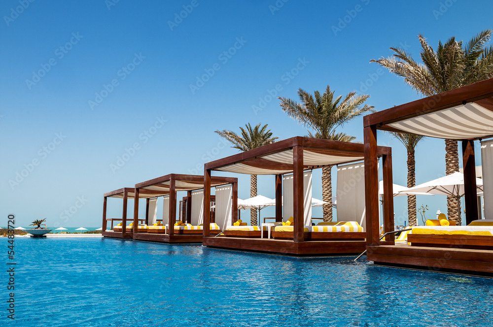 Fototapeta luxury place resort