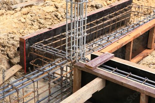 Fotografia, Obraz  foundation for home building