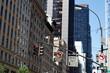 feu de signalisation et avenue New York