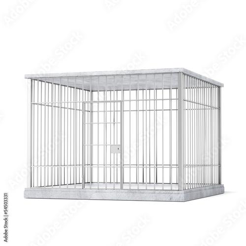 Fototapeta  steel cage