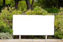 Blank Billboard Garden