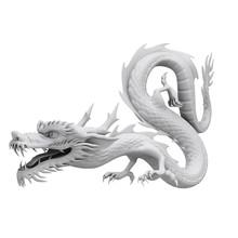 3d Render Dragon Clay Texture