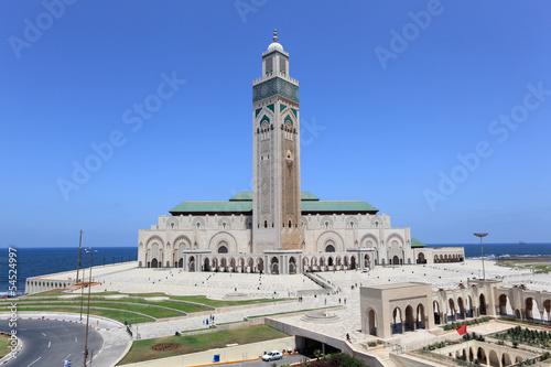 Foto  Great Mosque Hassan II in Casablanca, Morocco