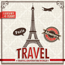 Vintage Paris Travel Vacation ...