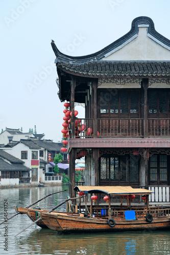 Photo  Shanghai rural village