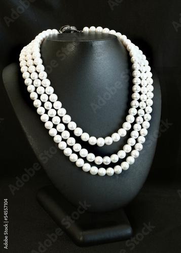 Fotografia Pearl necklace