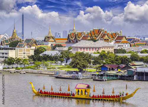 Photo  Landscape of Thai's king palace