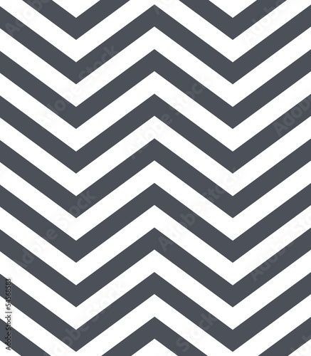 gray and white chevron pattern Wallpaper Mural
