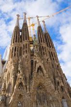 Sagrada Familia, Barcelona, Sp...