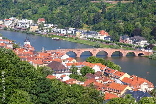 Fototapeta Heidelberg (Juli 2013) obraz na płótnie