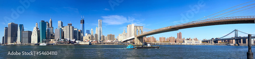 manhattan-panorama-i-most-brooklynski-w-nowym-jorku