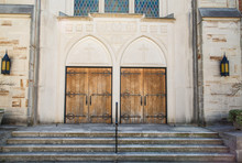 Two Old Church Doors