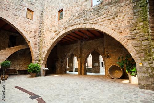 Foto courtyard of Castle of Cardona