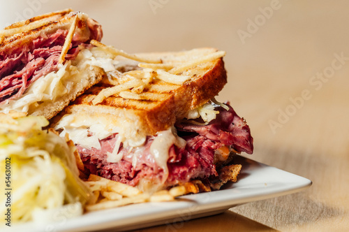 Corned Beef and Pastrami Sandwich